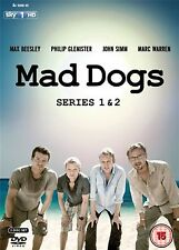 Mad Dogs Complete Series 1 2 Max Beesley, Philip Glenister, John Simm NEW R2 DVD