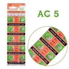 10 X AG5 Alkaline Batteries G5 LR754 LR48 193 SR754W GP93A 393 Button Coin Cell