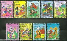 Dominica Disney Easter 1984 Set Scott #832/40 Mint Never Hinged Complete