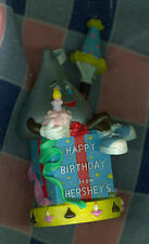 "Hershey's Figure w/Box 2000 Happy Birthday Hat Cupcake 4 1/2"" High Great Conditi"