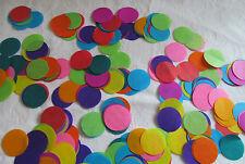 1000 x  Rainbow Circles Confetti/Favors/Multi-Coloured Tissue Paper