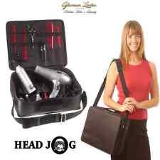 Testa Jog Tool Case, Nero, professionale o uso collegio, Parrucchiere Sacchetto