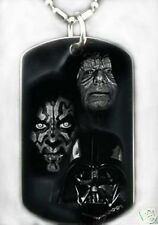 STAR WARS SITHS - Dog tag Necklace/Key Chain + FREE ENGRAVING