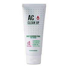 *Etude House* Ac Clean Up Daily Acne Foam Cleanser 150ml  -Korea cosmetics