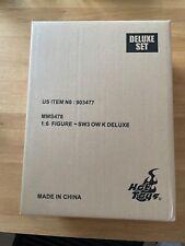 Star Wars Hot Toys Obi Wan Kenobi Deluxe Set MMS 478 neu!