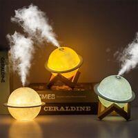 Portabale USB LED Night Light Air Humidifier Diffuser Aroma Mist Purifier 200ml