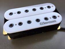 Warman Guitars Blanco destructor 12 polos 15k Neck Humbucker Pickup