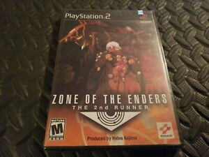 Zone of the Enders: The 2nd Runner (PlayStation 2, PS2) FACTORY SEALED! * promo