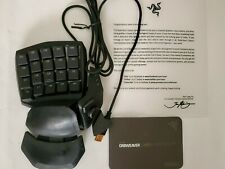 Razer Orbweaver Chroma (RZ07-01440200-R3M1) Keyboard - Orange Switch (Stealth)