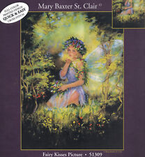 Embellished Cross Stitch Kit ~ Candamar Fairy Kisses Fantasy Picture #51309