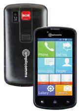 Amplicomms Powertel M9000 Touchscreen Handy Notruftaste Seniorenhandy