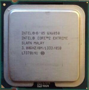 FRA Intel Core 2 Extreme Processor QX6850 (8M Cache, 3 GHz, 1333 FSB) Socket 775