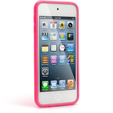 Pink TPU Skin Gel Case for Apple iPod Touch 7th 6th 5th Generation itouch Cover