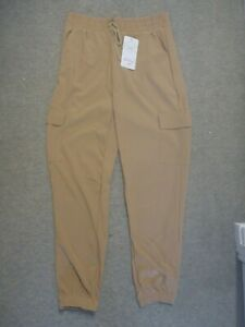 Holala Women's Beige Slim Fit Cargo Pocket Jogger Size L/XL *New & Tagged*
