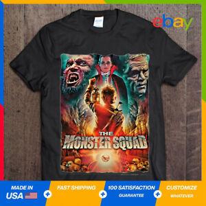 The Monster Squad Horror Movie Dracula Wolfman Frankenstein Unisex T Shirt