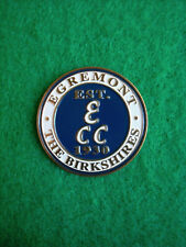"Egremont Birkshires Blue Golf Ball Marker 1"" Coin Great Barrington Massachusetts"