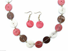 Shell Alloy Costume Jewellery Sets