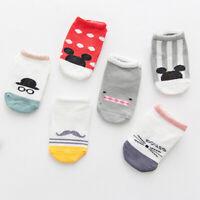 Baby Toddler Socks Infant Anti-Slip Novelty Socks Newborn Cotton Baby Socks S/