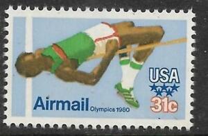 xsb256 Scott C97 US Air Mail Stamp 1979-80 31c Olympics MNH