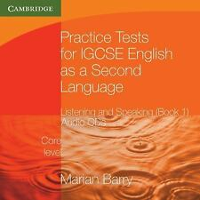 Practice Tests for IGCSE English as a Second Language: Listening and Speaking, C