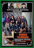 S05 Manifesto Branco Salvaje Burt Lancaster Rod Steiger