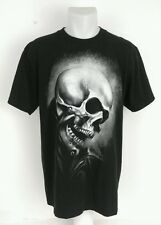 Men's L Mad Engine Marvel Ghost Rider Flaming Skull T-Shirt Agents Of Shield