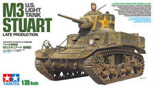 Tamiya 35360 1/35 Scale Model Kit WWII U.S Light Tank M3 Stuart Late Production