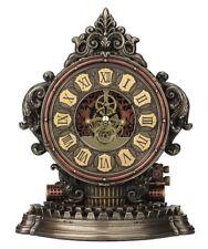 """9.25"""" Steampunk Typewriter Gear Clock Home Decor Gothic"""