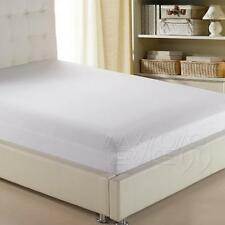 comfortable Home Cotton Solid Color Fitted Sheet All Seasons -Deep Pocket Spring