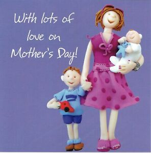 Lots Of Love on MOTHER'S DAY Card by Holy Mackerel Lovely unique MOTHERS DAY