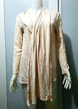 MAISON MARTIN MARGIELA LINE 1 SCARF LONG SLEEVED TOP BEIGE SIZE S