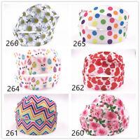Wholesale! 5-10yds 1'' (25mm) flower printed grosgrain ribbon Hair bow sewing
