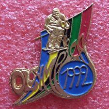 Pins ALBERTVILLE 92 Jeux Olympique OLYMPICA 1992 SKI DE VITESSE J.O JO OG O.G
