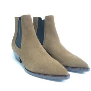 J-4498220 New Saint Laurent Brown Suede Boots Size 41 US 8
