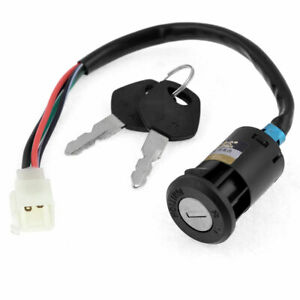 Key Switch Scooter Moped Go Kart Electric Motorcycle Bike Lock for CG125