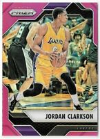 2016-17 /75 Panini Prizm Basketball Purple Prizm #134 Jordan Clarkson Lakers LA
