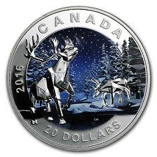 2016 Canada 1 oz Silver Geometry in Art: The Caribou - SKU #96558