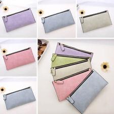 Women PU Leather Card Holder Case Long Wallet Clutch Zipper Handbag Purse Wallet