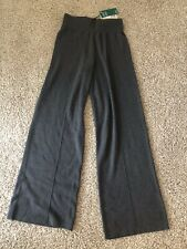 H&M PRINGLE WIDE LEG GREY KNITTED TROUSERS S