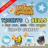 Animal Crossing New Horizons: Nook Miles Tickets & Bells | Iron, Gold, Fish Bait
