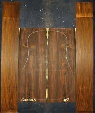 Guitar Luthier Tonewood COCOBOLO ROSEWOOD Acoustic backs sides SET