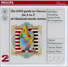 The DUO guide to Classics--An A to Z of classical music, , Good Limited Edition
