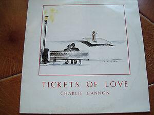 lp vinile 33 giri Charlie Cannon Tickets of love