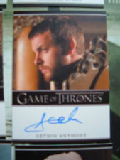 Game of thrones season 2 Gethin Anthony Renly Baratheon Autograph Card