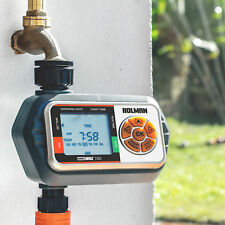 Holman Water Whiz 1 Advanced One Outlet Tap Timer Large LCD Display Battery OP