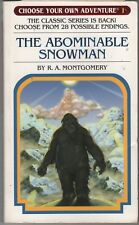 Choose Your Own Adventure: The Abominable Snowman by R.A. Montgomery