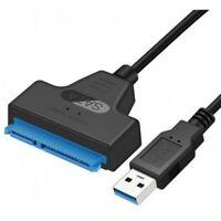 """Adaptateur SATA III 2,5"""" vers USB 3.0 Câble Lecteur Disque Dur HDD / SDD"""