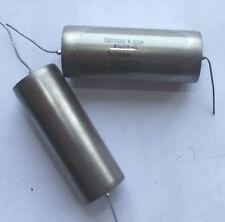 2 pcs * K40Y-9B PIO capacitors / 200V / 1.0uF / FREE MATCHING BY PAIRS / QUADS.