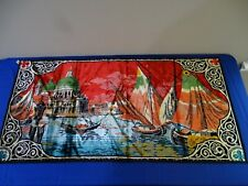 Vintage Tapestry Wall Hanging Made in Italy P7