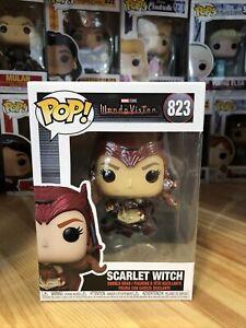 Wandavision Funko POP! Scarlet Witch #823 Marvel Disney+